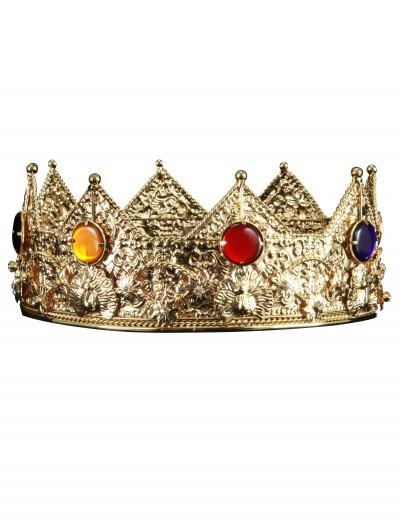Gold King Crown, halloween costume (Gold King Crown)