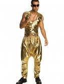 Gold MC Hammer Pants, halloween costume (Gold MC Hammer Pants)