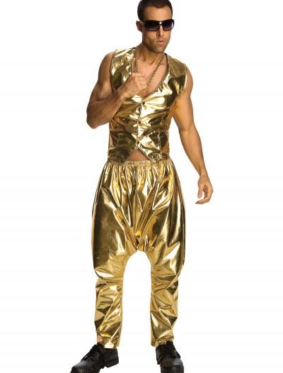 Gold MC Hammer Pants, halloween costume (Gold MC Hammer Pants)