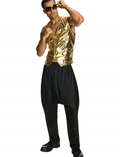 Gold MC Hammer Vest, halloween costume (Gold MC Hammer Vest)