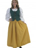 Gold Peasant Skirt, halloween costume (Gold Peasant Skirt)