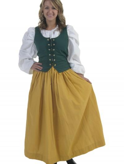 Gold Peasant Skirt, halloween costume (Gold Peasant Skirt)