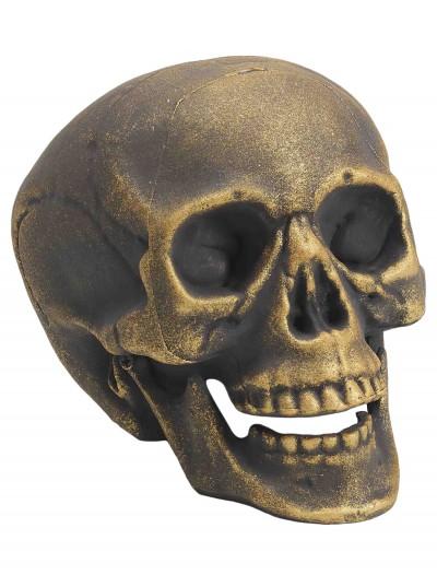 Gold Skull, halloween costume (Gold Skull)
