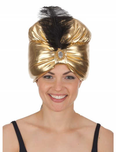Gold Turban, halloween costume (Gold Turban)