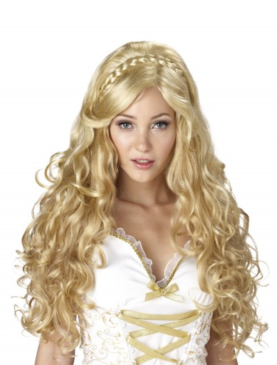 Golden Goddess Wig, halloween costume (Golden Goddess Wig)