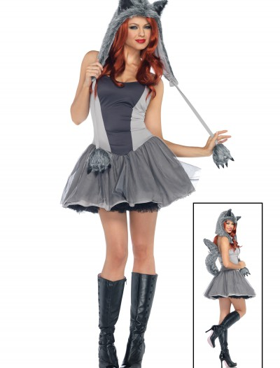 Gorgeous Grey Wolf Costume, halloween costume (Gorgeous Grey Wolf Costume)