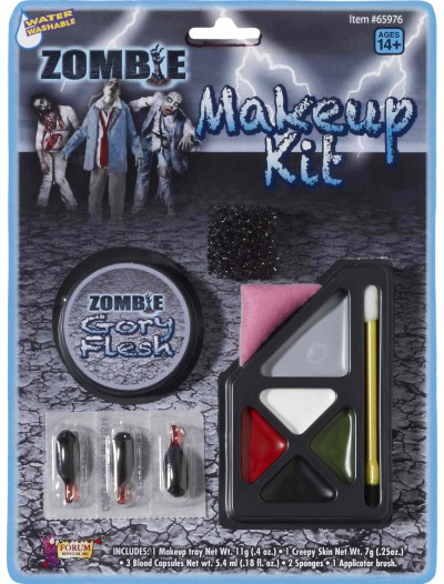 Gory Zombie Makeup Kit, halloween costume (Gory Zombie Makeup Kit)