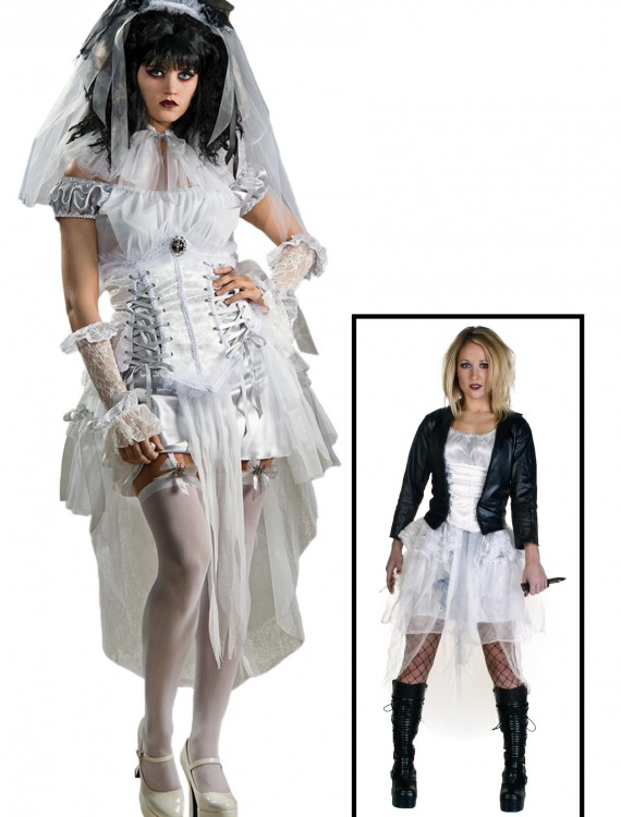 Gothic Bride of Chucky Costume, halloween costume (Gothic Bride of Chucky Costume)