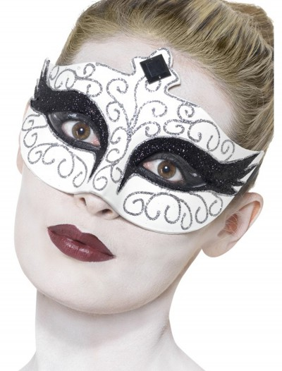 Gothic Swan Eyemask, halloween costume (Gothic Swan Eyemask)