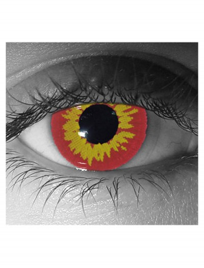 Gothika Red Wolf Contact Lenses, halloween costume (Gothika Red Wolf Contact Lenses)
