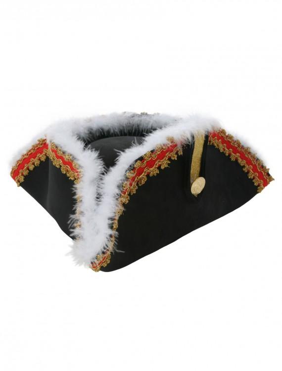 Governor Tricorn Pirate Hat, halloween costume (Governor Tricorn Pirate Hat)