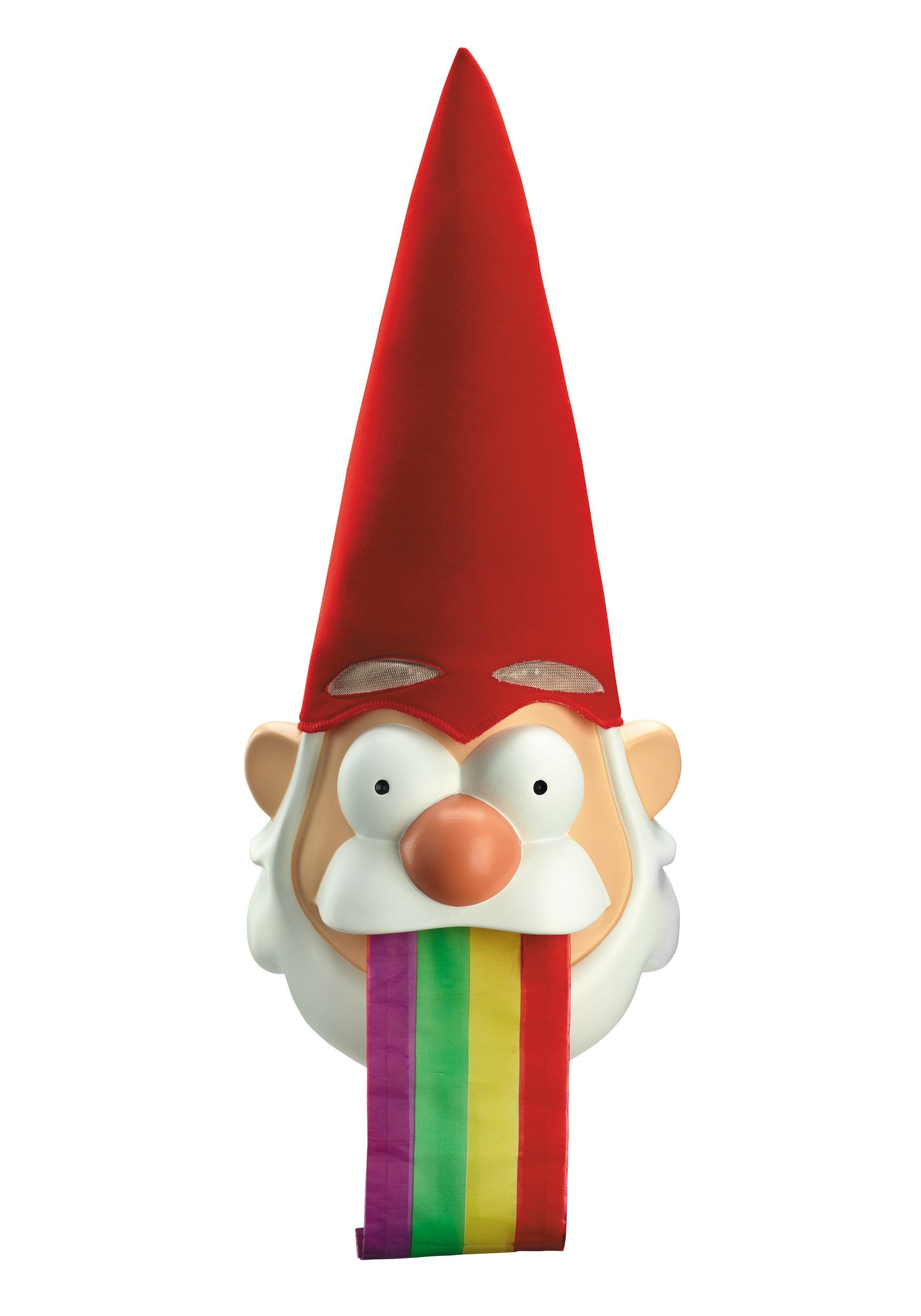 gravity falls barfing gnome mask - halloween costumes