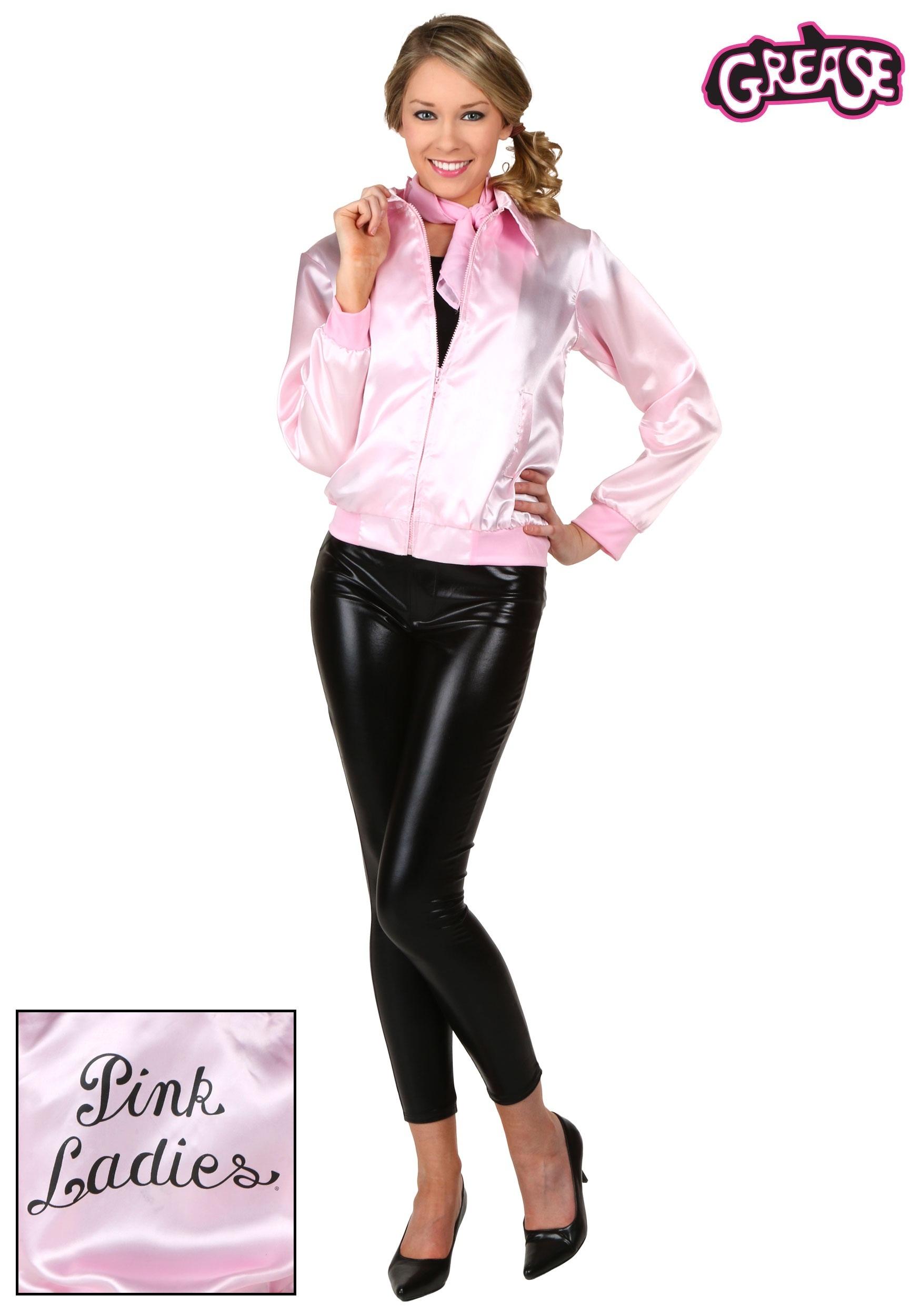 5d2c808e981 Grease Plus Size Pink Ladies Jacket
