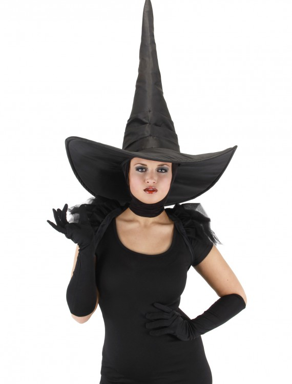 Oz Wicked Witch Deluxe Hat, halloween costume (Oz Wicked Witch Deluxe Hat)