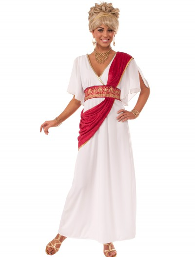 Grecian Gown w/ Red Sash, halloween costume (Grecian Gown w/ Red Sash)