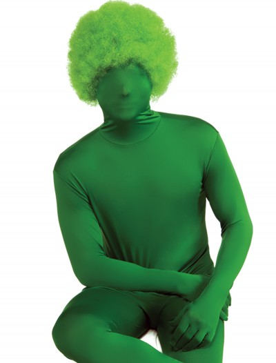 Green Afro Wig, halloween costume (Green Afro Wig)