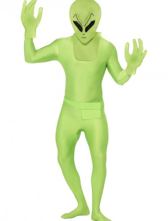 Green Alien Suit, halloween costume (Green Alien Suit)