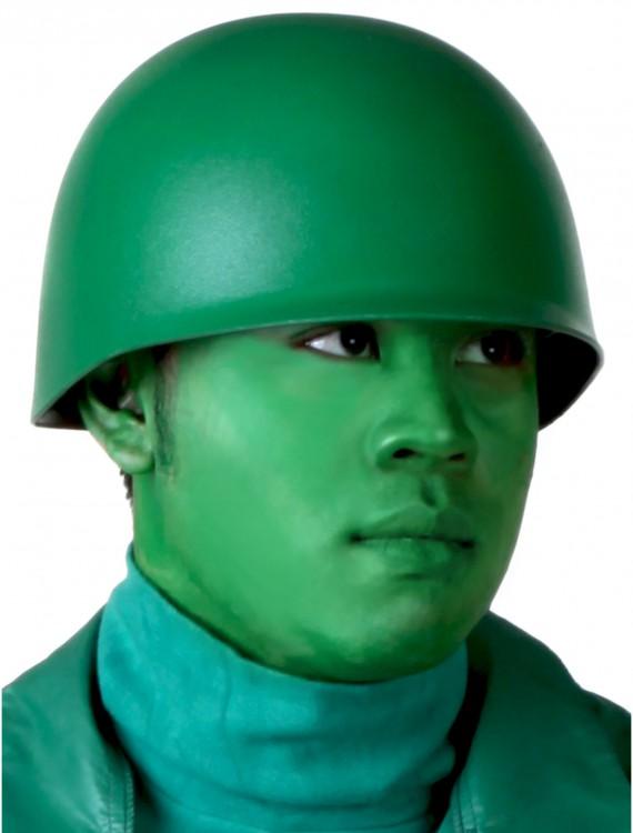 Green Army Man Helmet, halloween costume (Green Army Man Helmet)