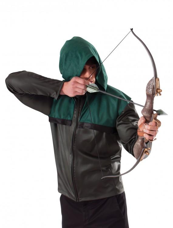 Green Arrow Bow and Arrow Set, halloween costume (Green Arrow Bow and Arrow Set)
