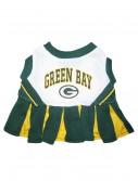 Green Bay Packers Dog Cheerleader Outfit, halloween costume (Green Bay Packers Dog Cheerleader Outfit)