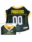 Green Bay Packers Dog Mesh Jersey, halloween costume (Green Bay Packers Dog Mesh Jersey)