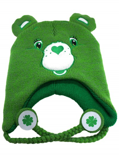 Green Carebears Laplander Hat, halloween costume (Green Carebears Laplander Hat)