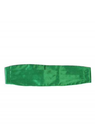 Green Cummerbund, halloween costume (Green Cummerbund)