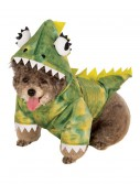 Green Dinosaur Hoodie Pet Costume, halloween costume (Green Dinosaur Hoodie Pet Costume)