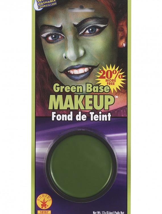 Green Face Makeup, halloween costume (Green Face Makeup)