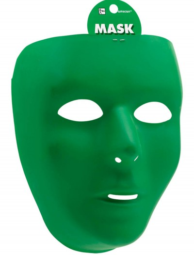 Green Full Face Mask, halloween costume (Green Full Face Mask)