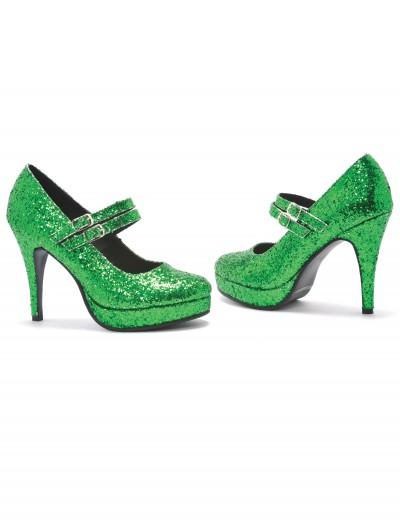 Green Glitter Shoes, halloween costume (Green Glitter Shoes)