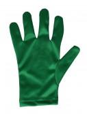 Adult Green Gloves, halloween costume (Adult Green Gloves)