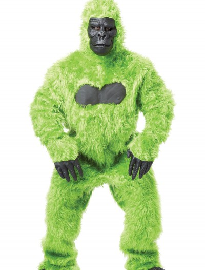 Green Gorilla Suit, halloween costume (Green Gorilla Suit)