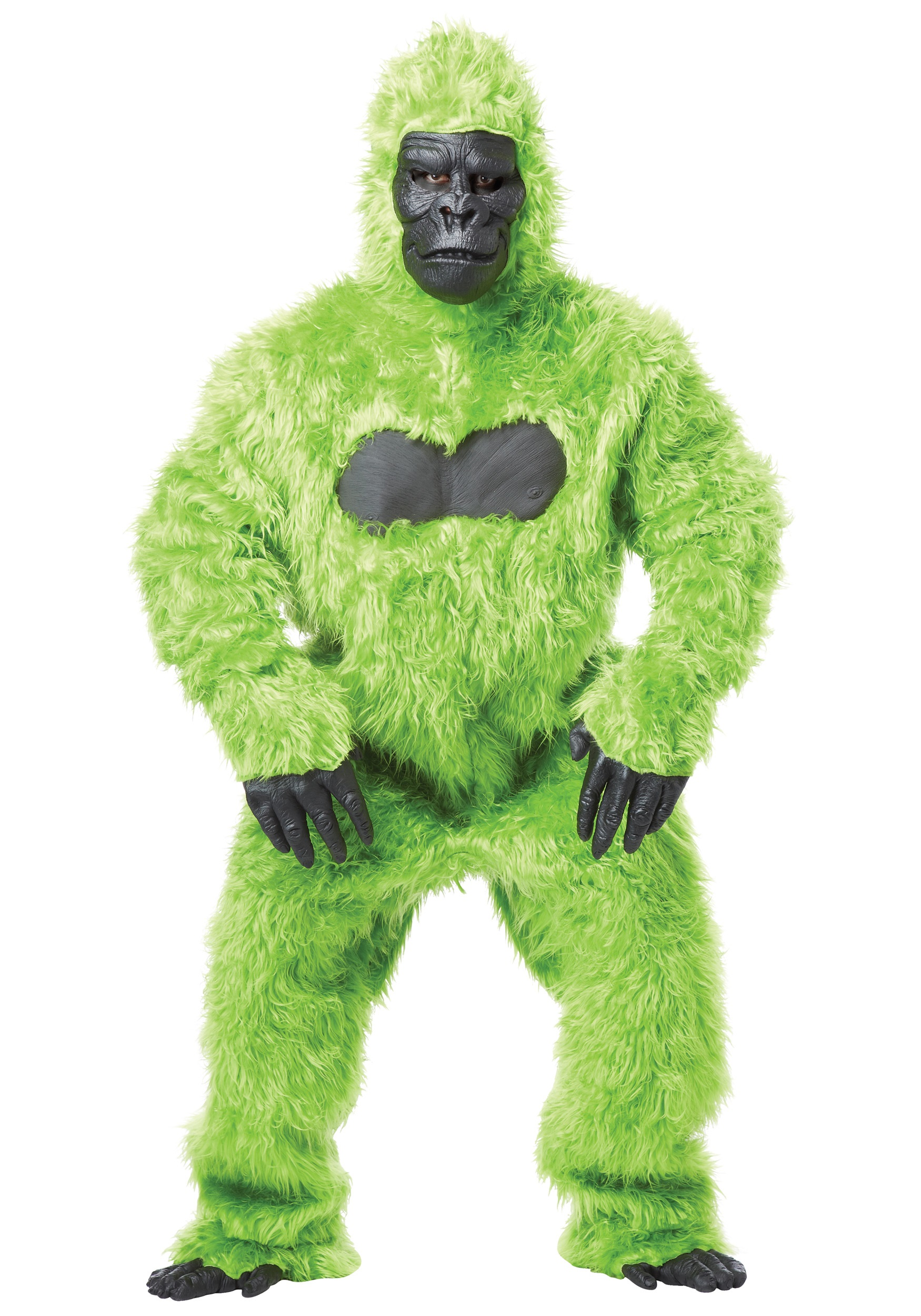 green gorilla suit