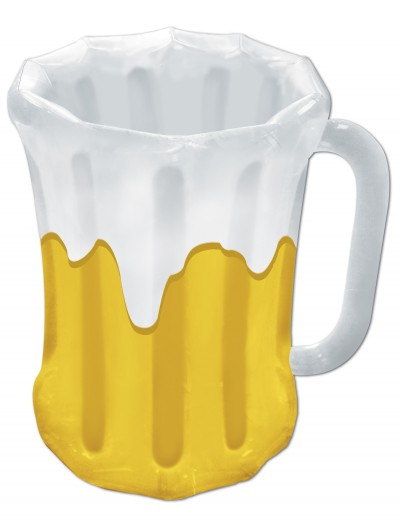 Green Inflatable Beer Mug Cooler, halloween costume (Green Inflatable Beer Mug Cooler)