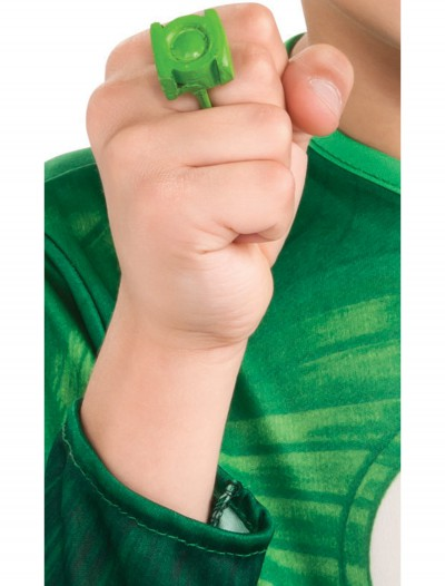 Green Lantern Lite Up Ring, halloween costume (Green Lantern Lite Up Ring)