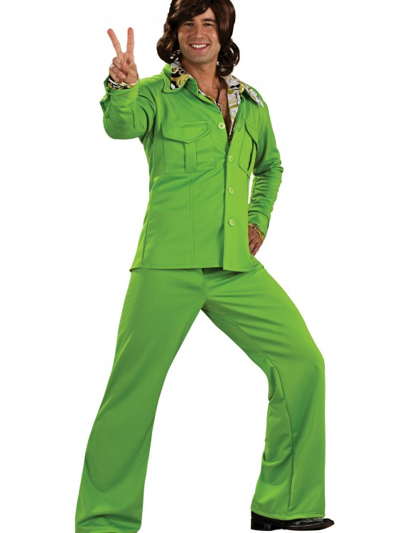 Green Leisure Suit, halloween costume (Green Leisure Suit)
