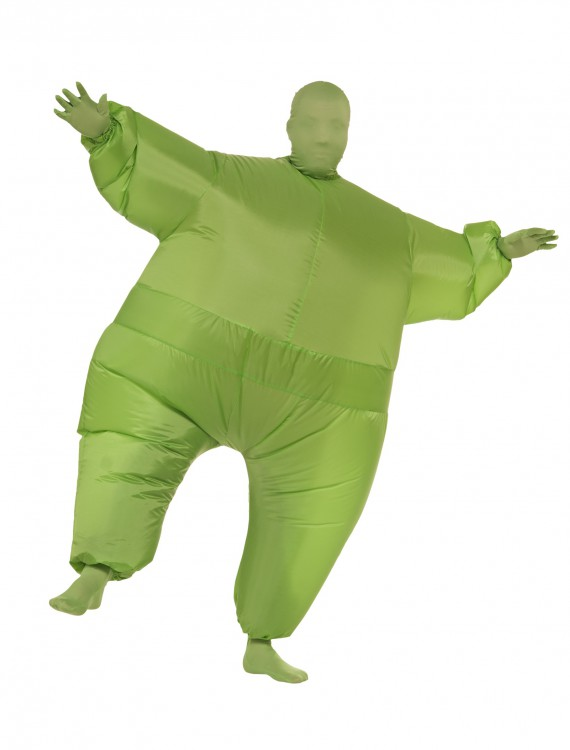 Green Man Inflatable Costume, halloween costume (Green Man Inflatable Costume)