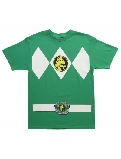 Green Power Ranger T-Shirt, halloween costume (Green Power Ranger T-Shirt)