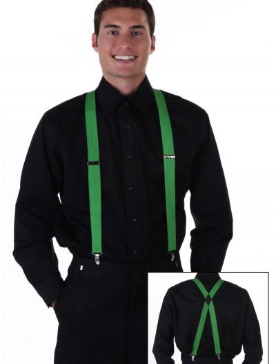 Green Suspenders, halloween costume (Green Suspenders)