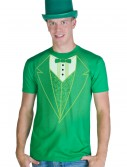 Green Tuxedo Costume T-Shirt, halloween costume (Green Tuxedo Costume T-Shirt)