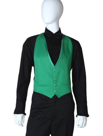 Green Tuxedo Vest, halloween costume (Green Tuxedo Vest)
