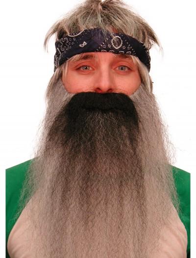 Grey Biker/Hillbilly Beard, halloween costume (Grey Biker/Hillbilly Beard)