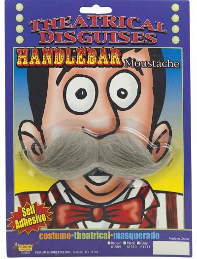 Grey Handlebar Mustache, halloween costume (Grey Handlebar Mustache)