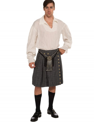 Gray Kilt and Shirt, halloween costume (Gray Kilt and Shirt)