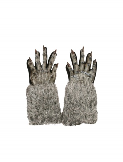 Grey Werewolf Gloves, halloween costume (Grey Werewolf Gloves)