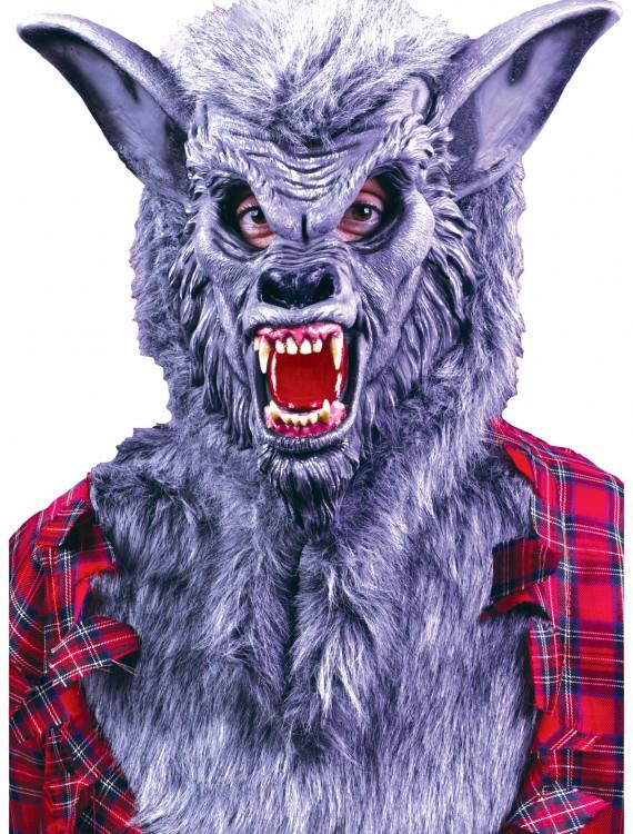 Grey Werewolf Mask, halloween costume (Grey Werewolf Mask)