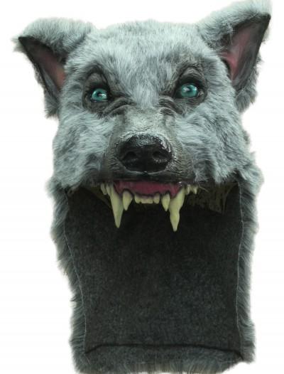 Grey Wolf Helmet, halloween costume (Grey Wolf Helmet)
