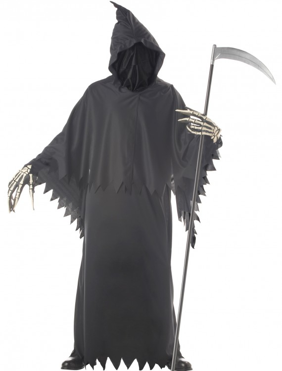 Grim Reaper Deluxe Costume, halloween costume (Grim Reaper Deluxe Costume)