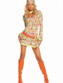 Groovy Chick Costume, halloween costume (Groovy Chick Costume)